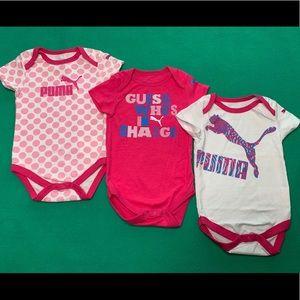 Baby Girl Puma Bodysuit Bundle